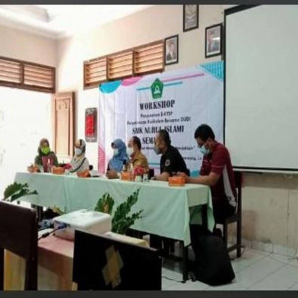 SMK Nuris mengadakan Workshop Penyusunan KTSP sebagai upaya Peningkatan Mutu Pendidikan 14-15 Juni 2021